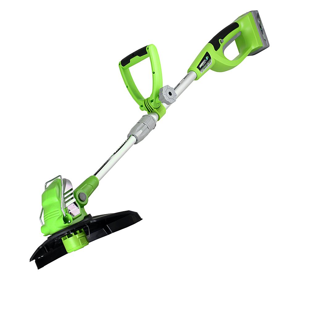 EARTHWISE Cordless String Trimmer with 12 Cut Width