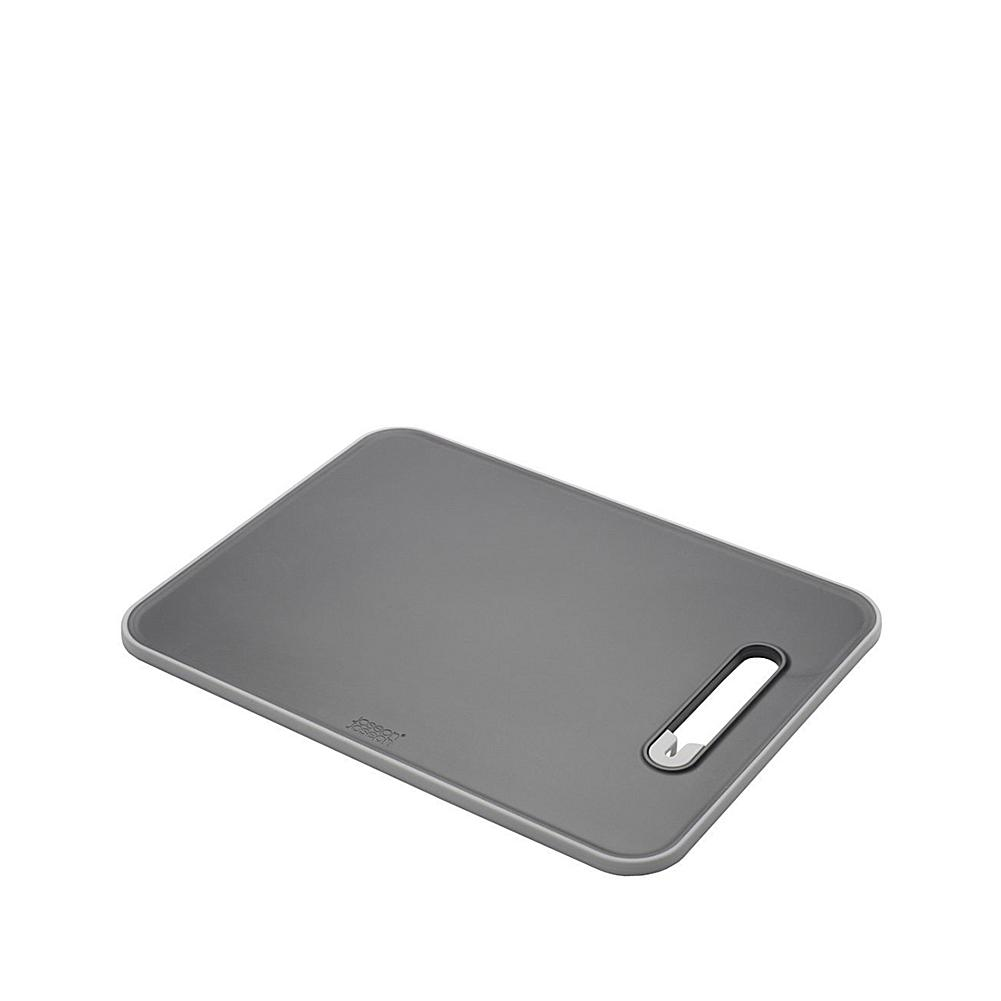 Joseph Joseph Joseph Joseph Slice&Sharpen Chopping Board with Integrated Knife Sharpener - Large