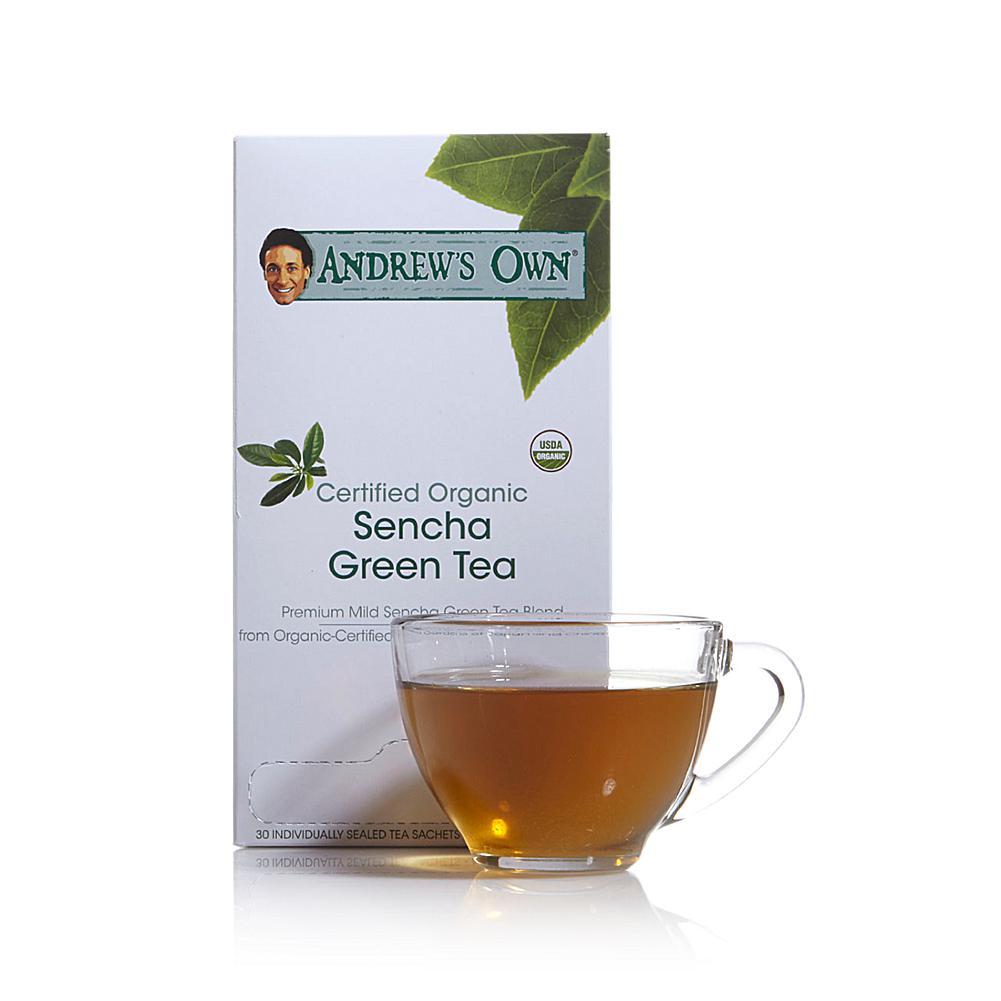 Andrew Lessman Certified Organic Sencha Green Tea - 30 Sachets