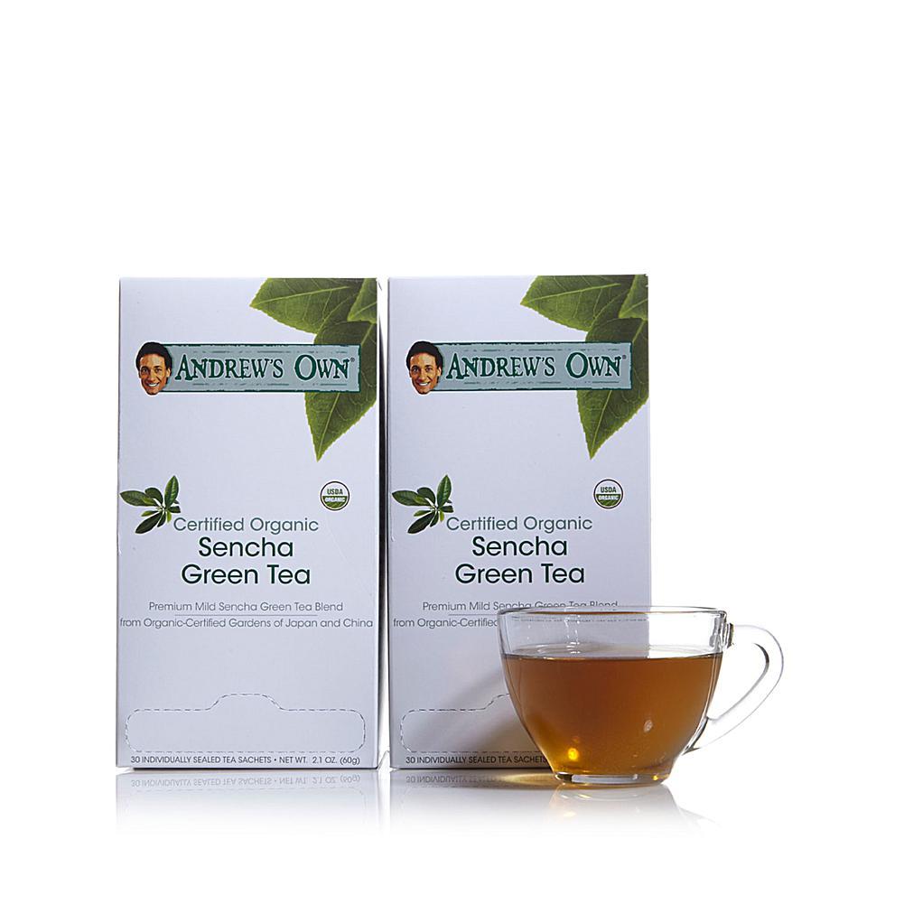 Andrew Lessman Certified Organic Sencha Green Tea - 60 Sachets