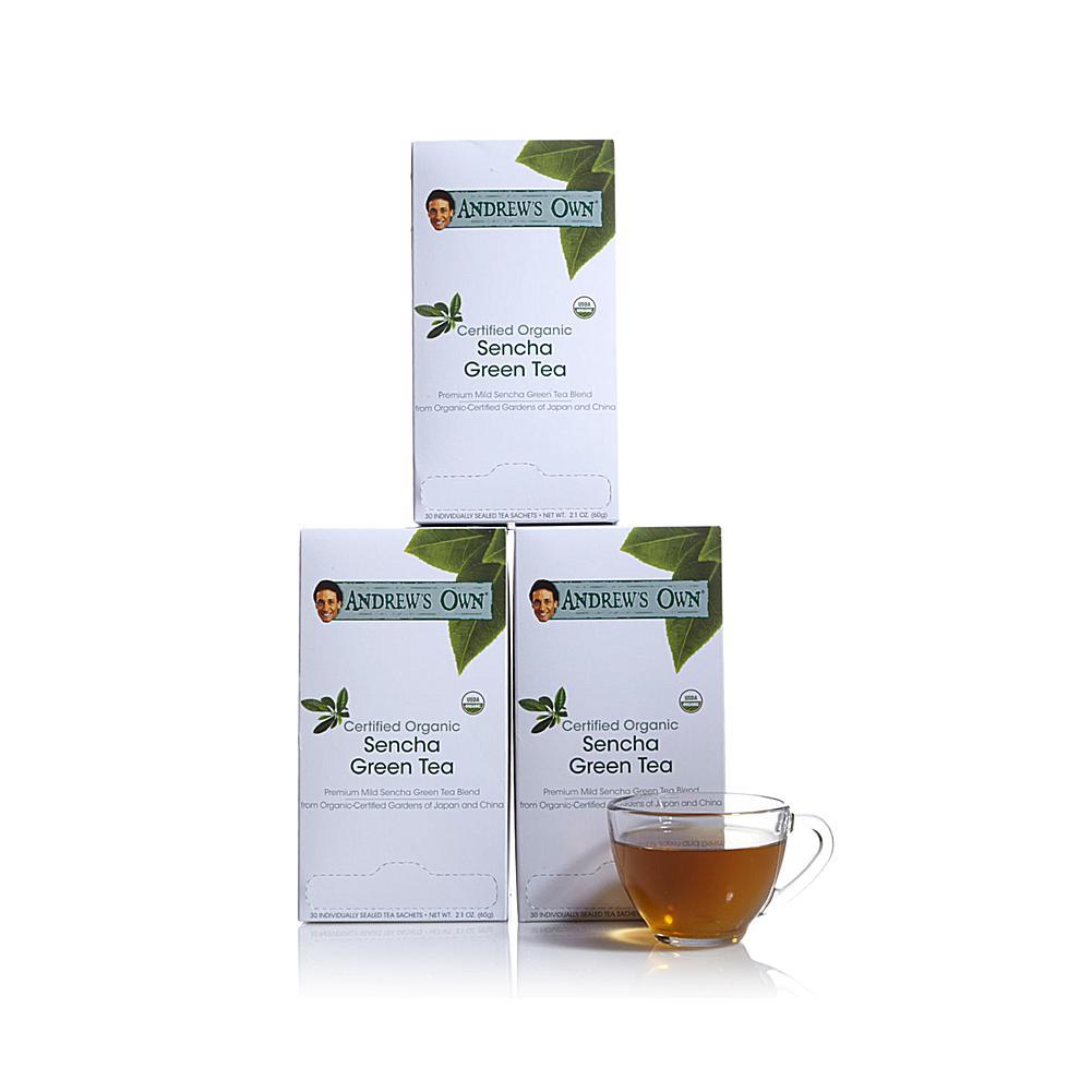 Andrew Lessman Certified Organic Sencha Green Tea - 90 Sachets