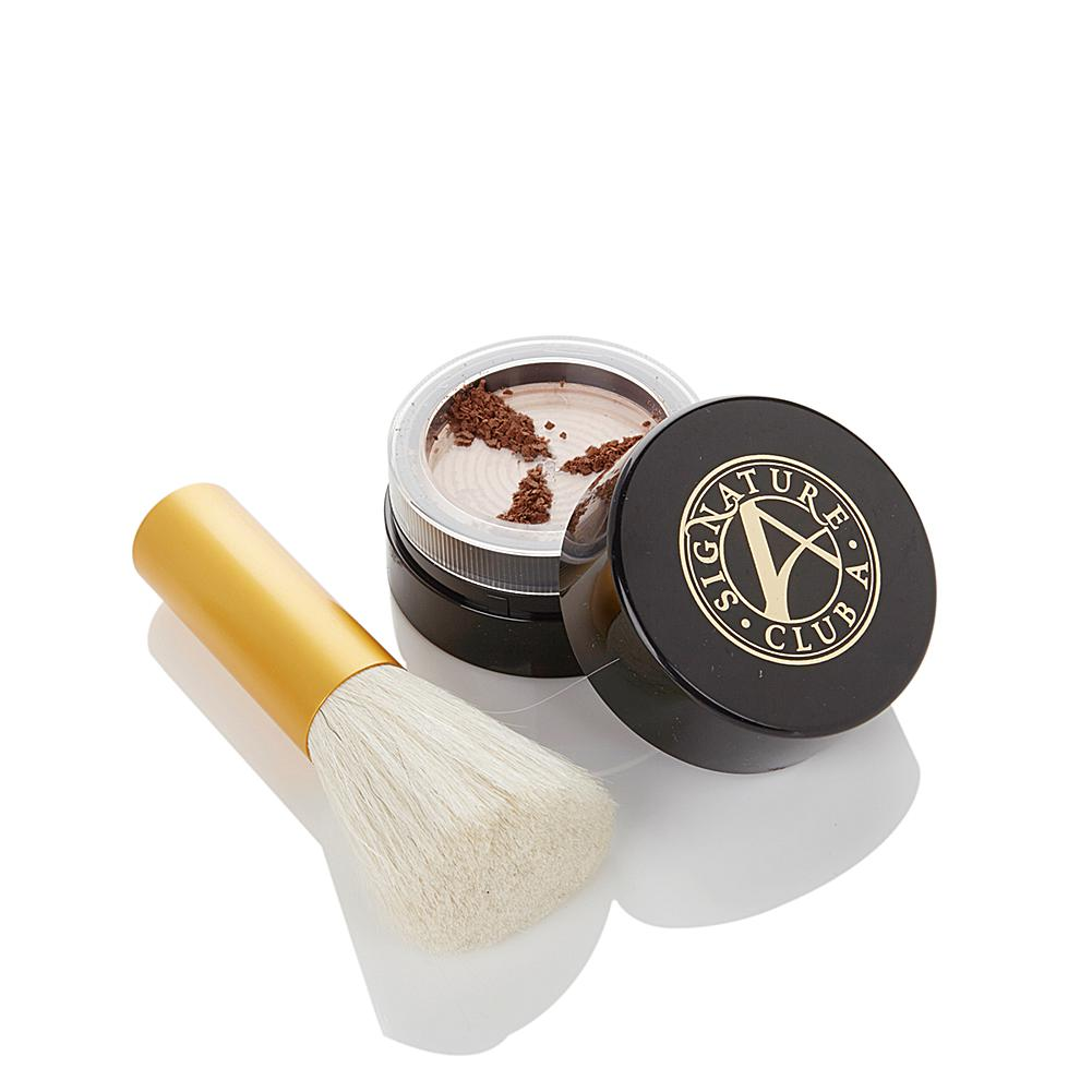Signature Club A 8 Butters Grinding Face Powder with Kabuki Brush