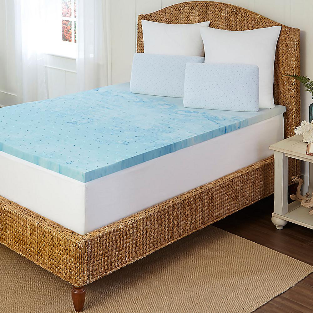 Concierge Collection Concierge Rx Cooling Gel 2 Memory Foam Topper - California King