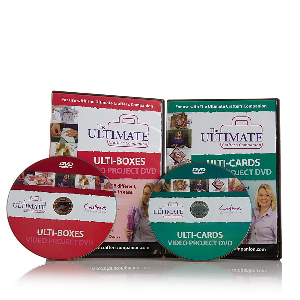 Crafter's Companion Ultimate Video Project DVD 2-pack