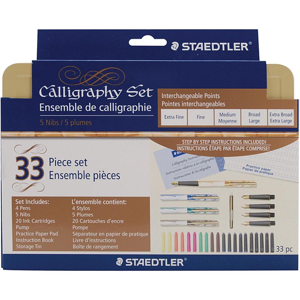 STAEDTLER 33-piece Calligraphy Pen Set