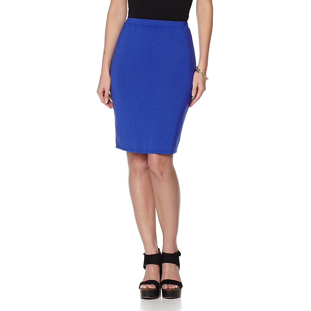 Colleen Lopez Essential Stretch Knit Skirt plus size,  plus size fashion plus size appare