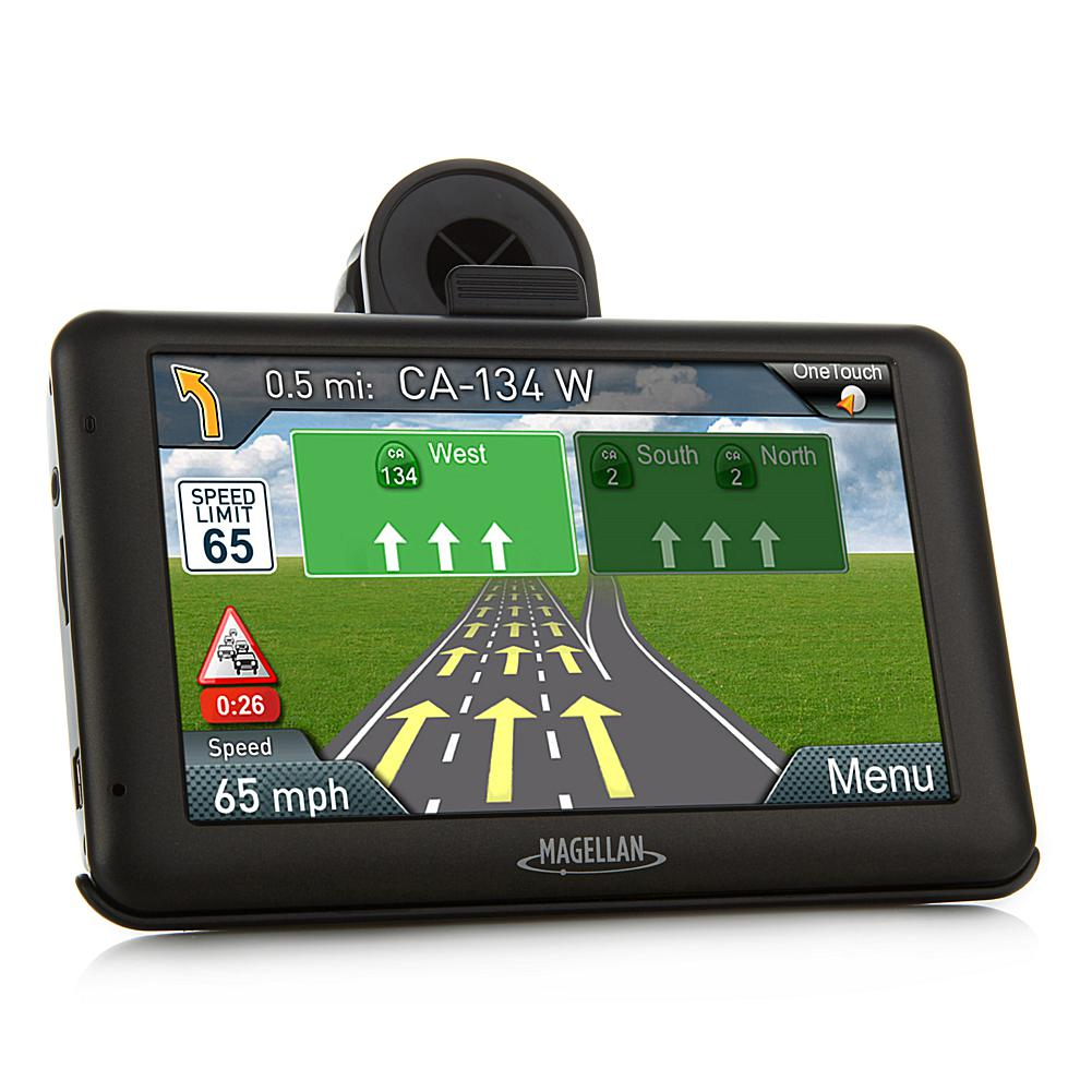 "Magellan RoadMate 5"" Touch GPS with Lifetime Maps and Built-In HD Dash Cam"