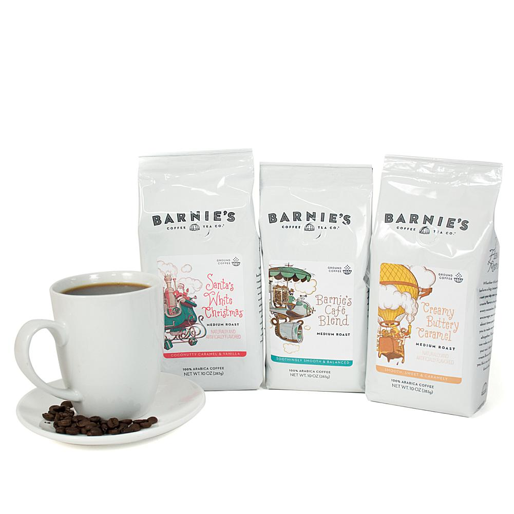 Barnie's Coffee Kitchen Barnie's Coffee Kitchen 3-pack of Ground Coffee Bags