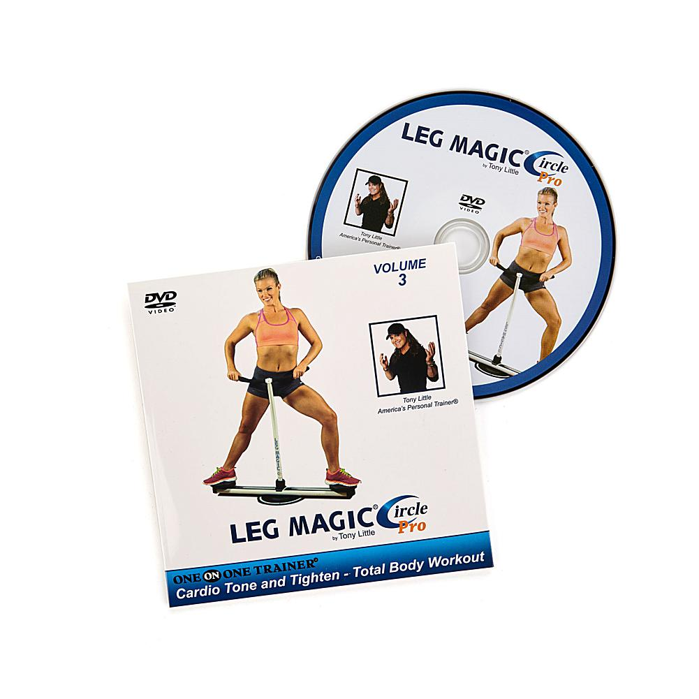 Tony Little Leg Magic Circle Pro Volume 3 Workout DVD