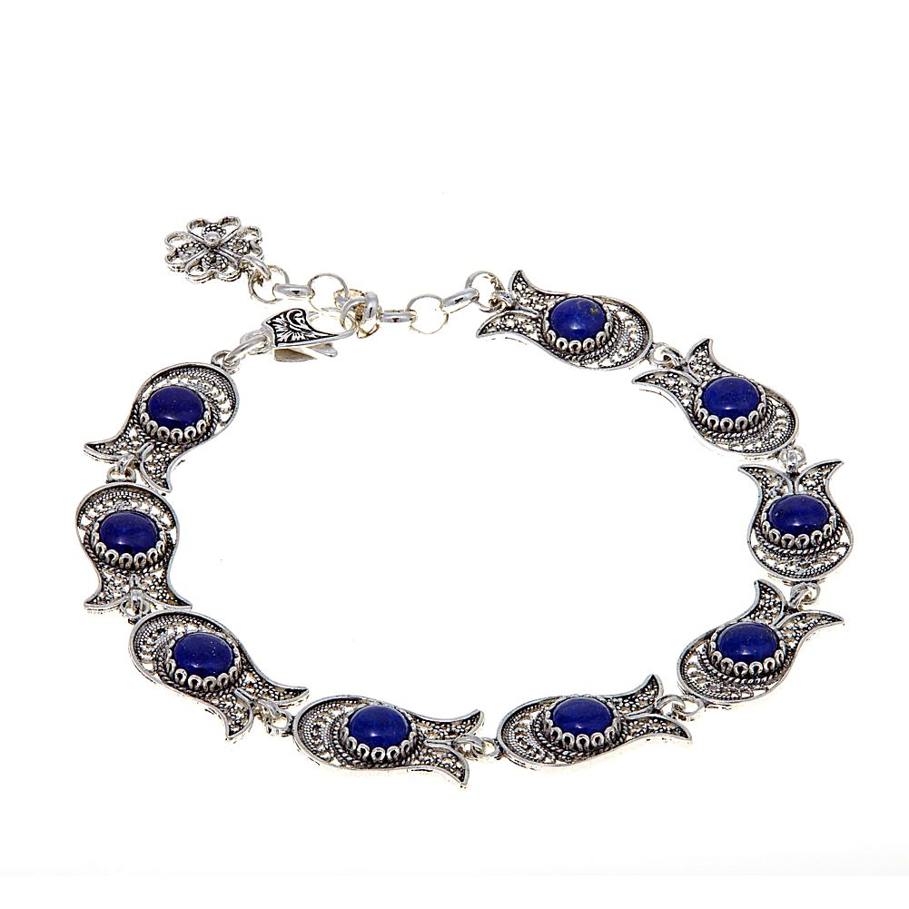 Ottoman Silver Collection Ottoman Silver Jewelry Collection Blue Lapis Fish