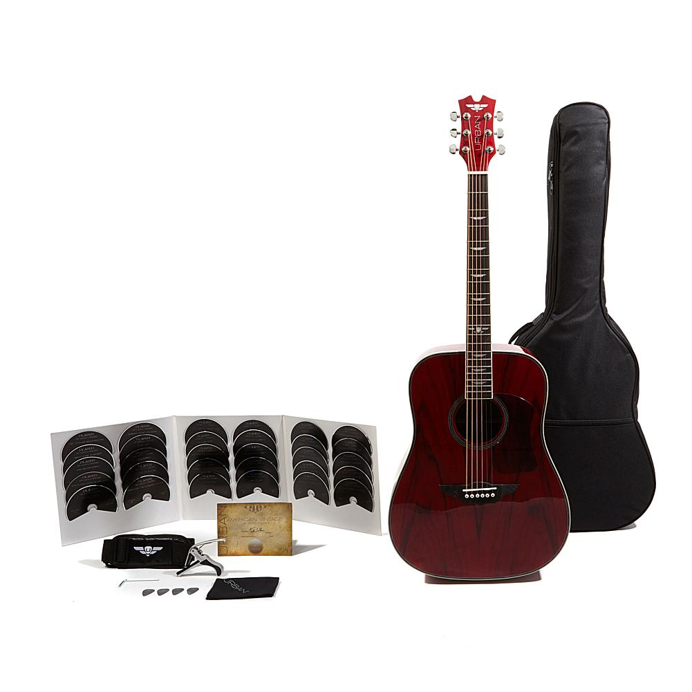 URBAN Guitar Collection Keith Urban American Vintage Acoustic Edition 40-piece Guitar Package