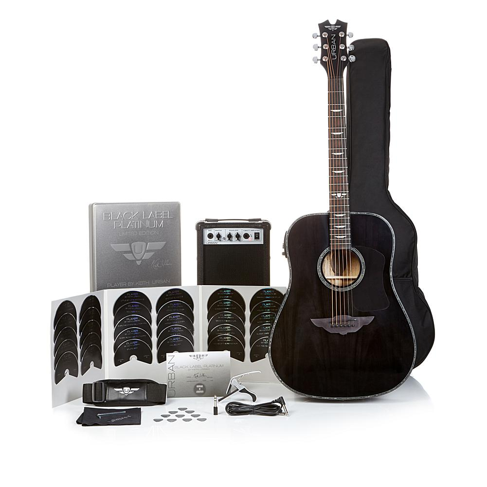 URBAN Guitar Collection Keith Urban Black Label Platinum