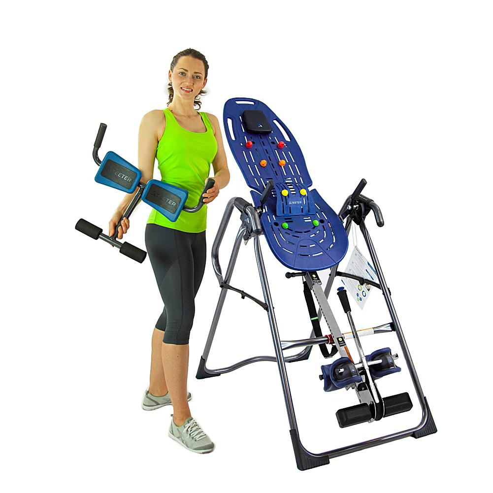 Teeter EP-970 Ltd. Inversion Table with EZ-Reach Ankle System and Teeter P2 Back Stretcher