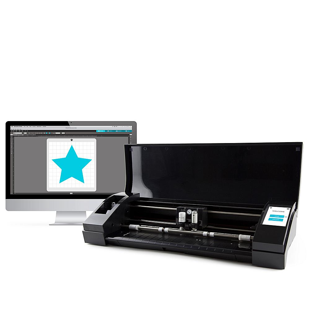 Scrapbooking Silhouette CAMEO 3 Electronic Cutting Machine - Black