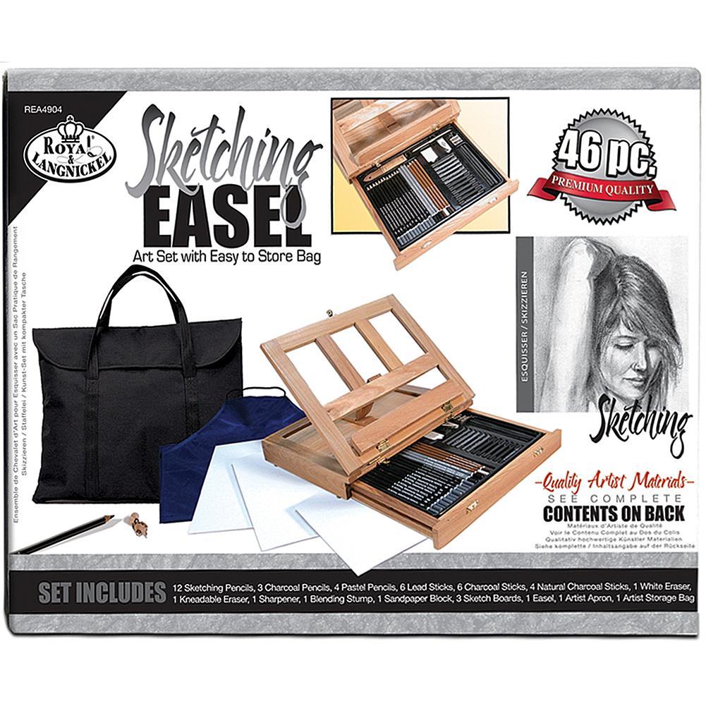 ROYAL BRUSH Royal Langnickel Sketching Easel Artist Kit with Storage Bag
