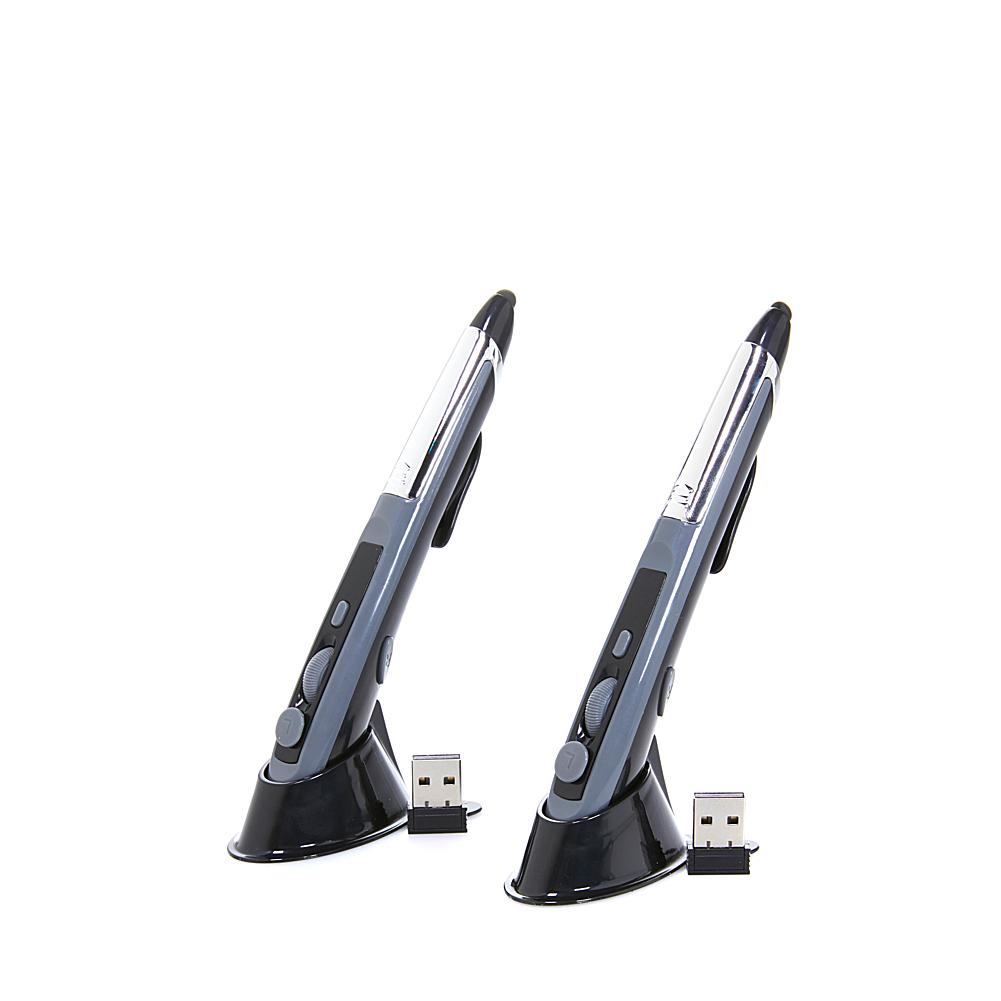 As Seen on TV Pocket Mouse 2-in-1 Wireless Computer Mouse and Stylus - 2-pack