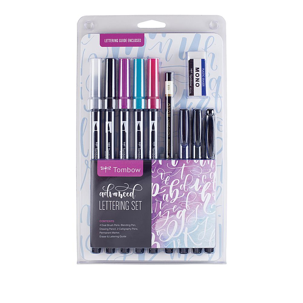 Scrapbooking Tombow Advanced Lettering Set 11-piece