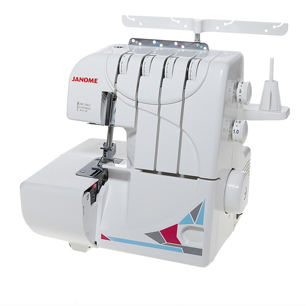 Janome 4-3 Tread MOD Serger with Accessory Bundle