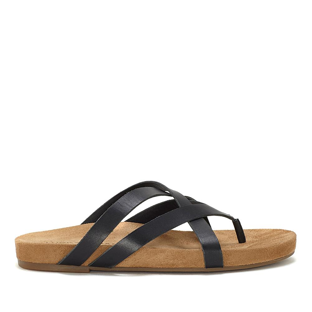 Lucky Brand Fillima Comfort Footbed Leather Slide