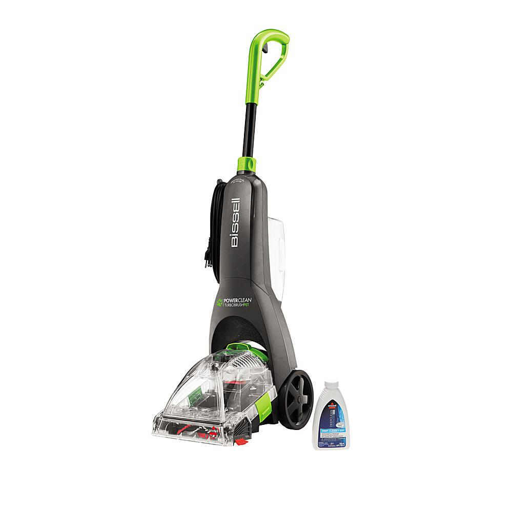 BISSELL TurboClean PowerBrush Pet Carpet Cleaner w/Cleaning Formula