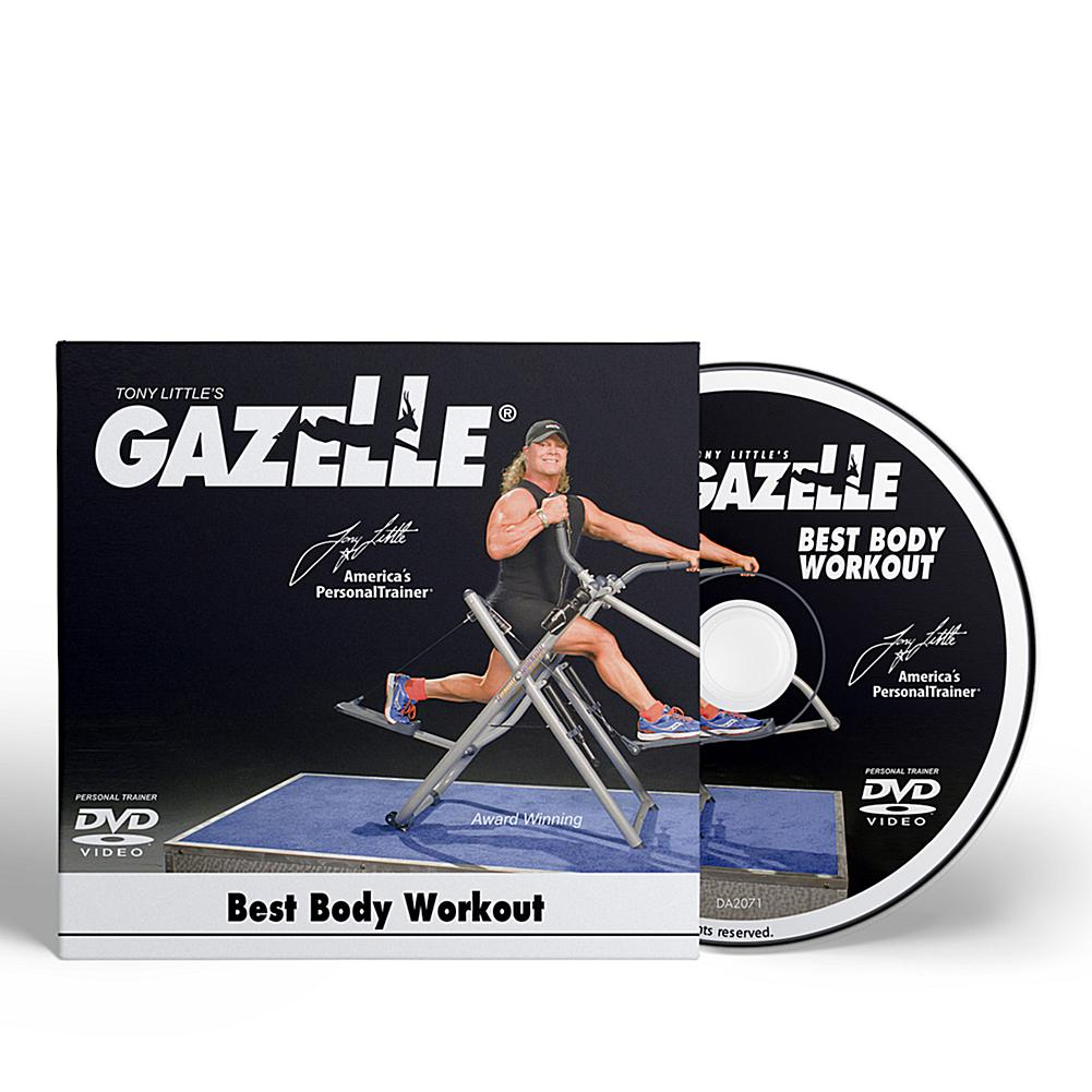 Tony Little Gazelle Best Body Workout DVD