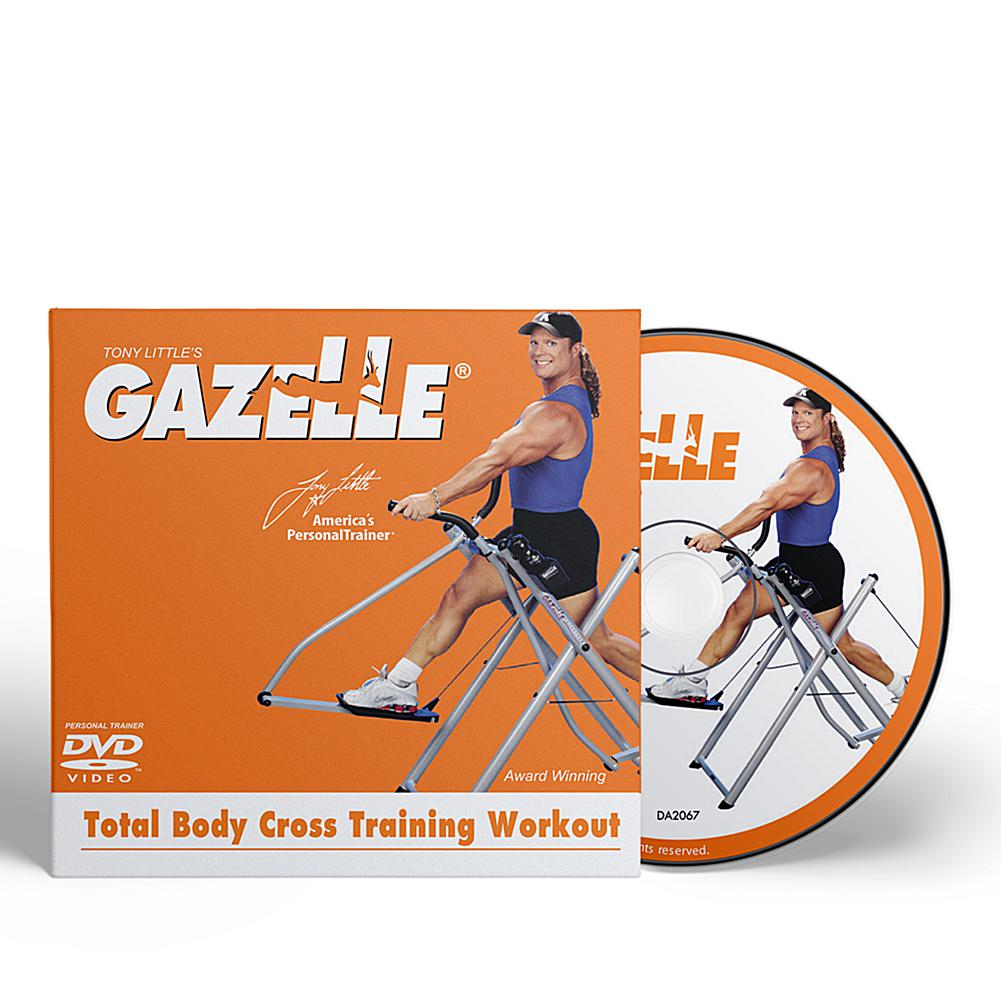 Tony Little Gazelle Cross Trainer Workout DVD