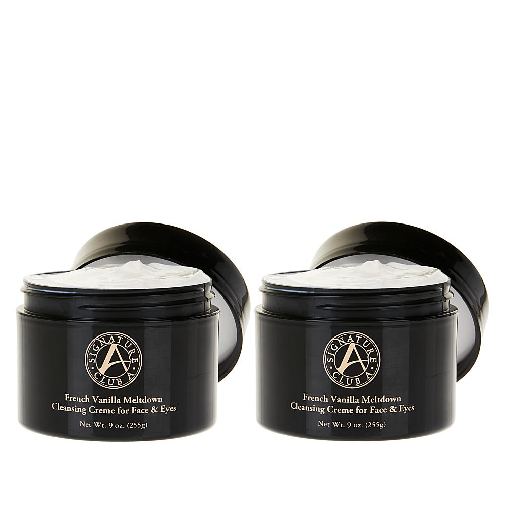 Signature Club A French Vanilla 9 oz. Meltdown Cleansing Duo