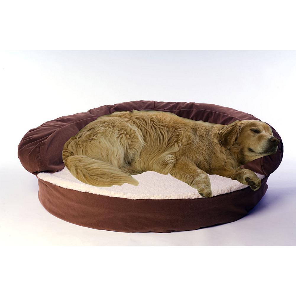 Carolina Pet Company Large Ortho Sleeper Bolster Bed