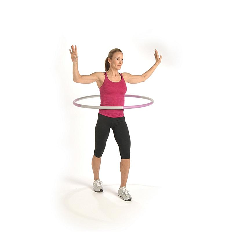 Stamina 2.5-lb. Fitness Hoop with Workout DVD