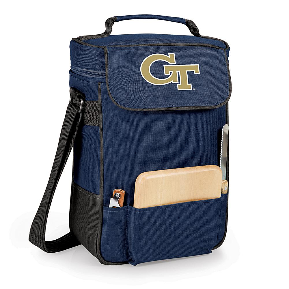Picnic Time Duet Wine and Cheese Tote - Georgia Tech - Navy