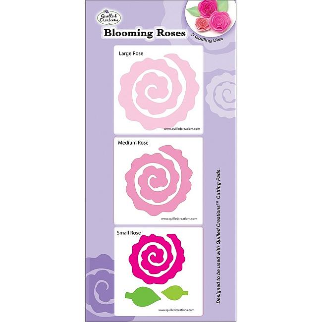 Crafts & Sewing Quilling Dies - Blooming Roses