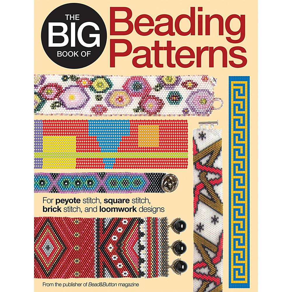 Crafts & Sewing Kalmbach Publishing Books - The Big Book Of Beading Patterns