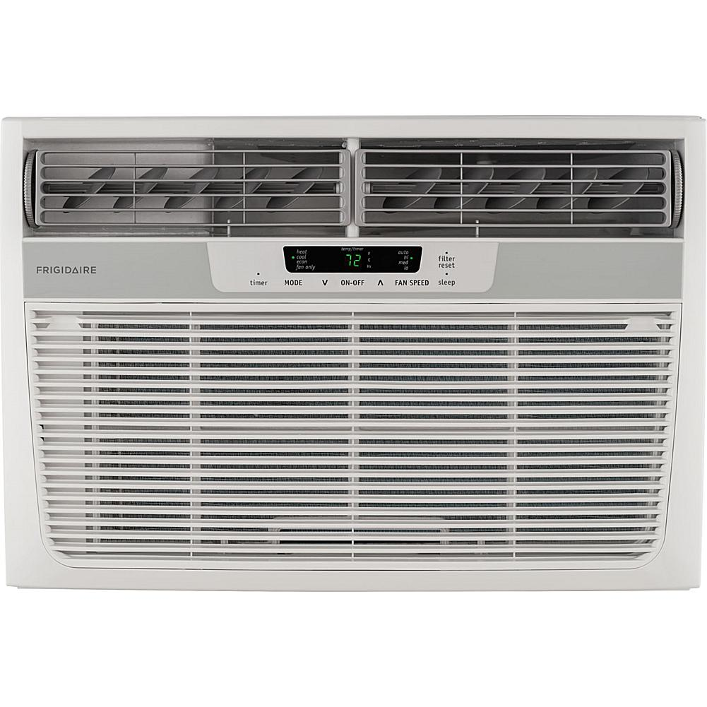 Frigidaire 12 000 BTU 230V Compact Slide-Out Chassis Air Conditioner with 11 000 BTU Supplemental Heat Capabili