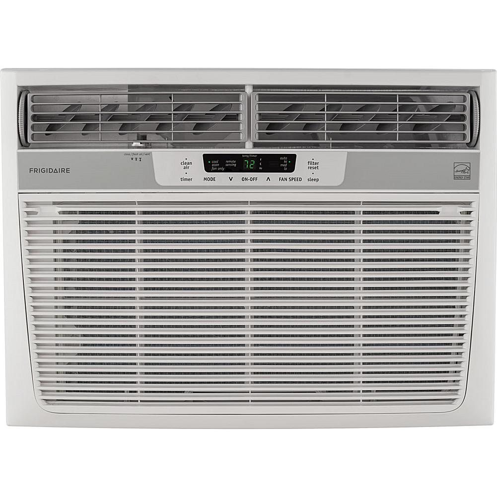 Frigidaire 22,000 BTU Window-Mounted Heavy-Duty Air Conditioner with Temperature-Sensing Remote