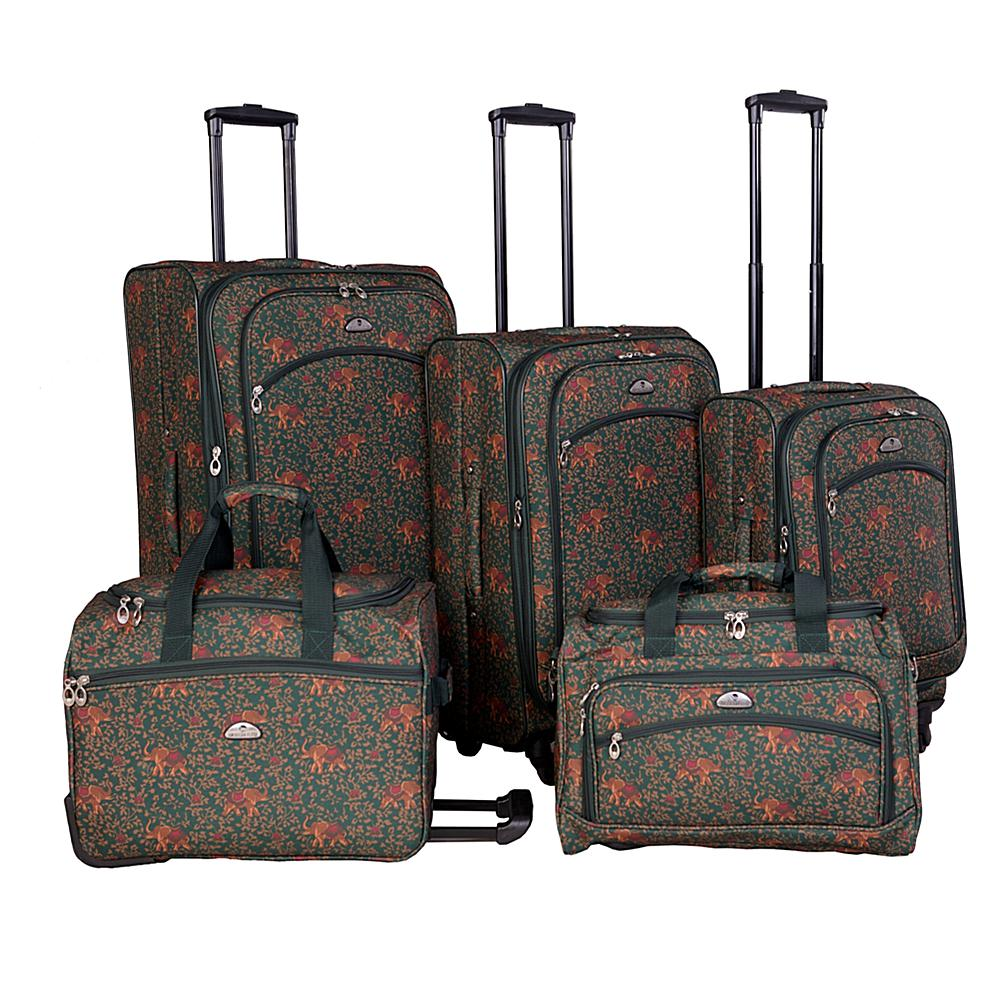 American Flyer Budapest 5-Piece Spinner Luggage Set