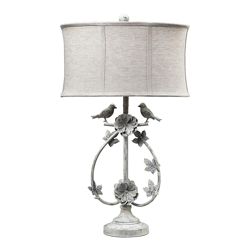 Home Marketplace Saint Louis Heights Table Lamp - Antique White