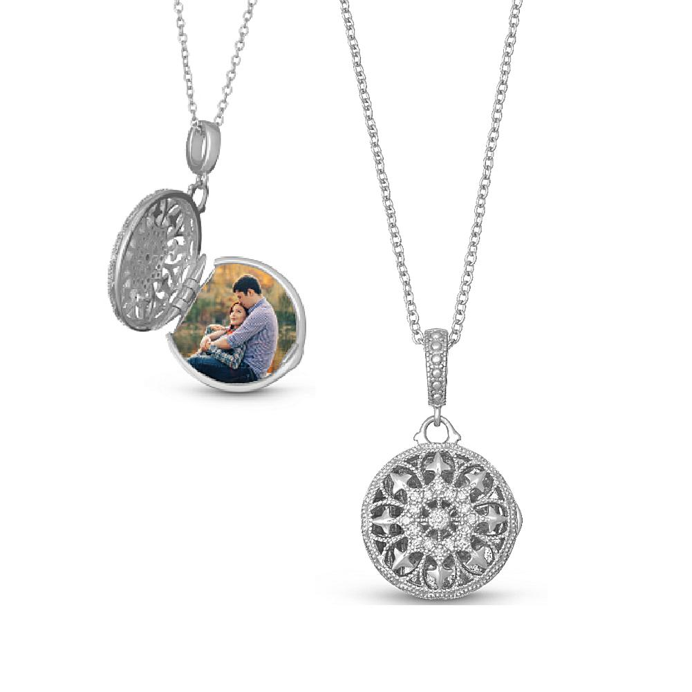 With You Lockets Sterling Silver Bea