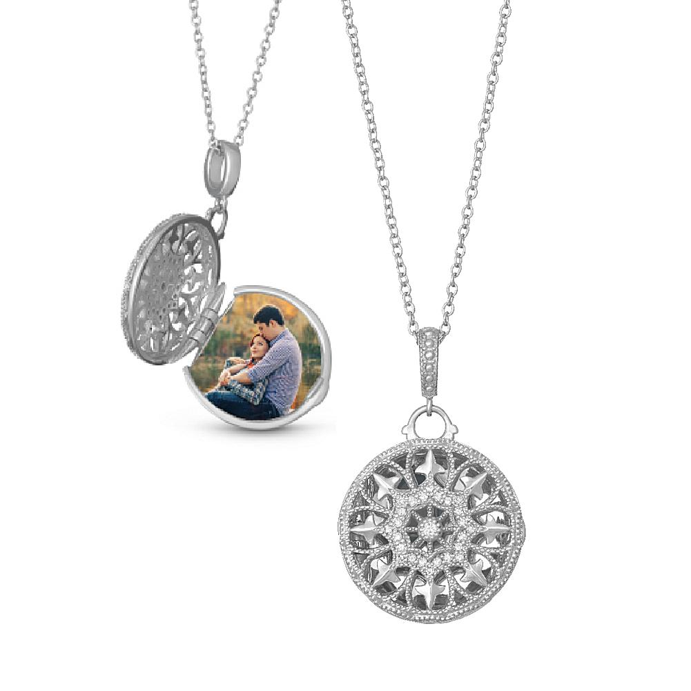 With You Lockets Sterling Silver Beatrice