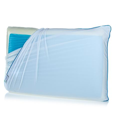 Concierge Rx Memory Core Pillow with Cooling Wave Gel