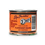 1-Shot Fluorescent Bulletin Color 4 oz. - Chartreuse