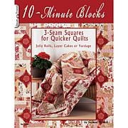 '10-Min Blocks: 3-Seam Squares for Quicker Quilts' Book