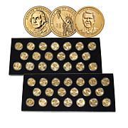 2007-2016 BU Complete 40-Coin Presidential Dollar Set