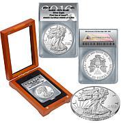 2016 PR70 30th Anniversary Silver Eagle Dollar Coin
