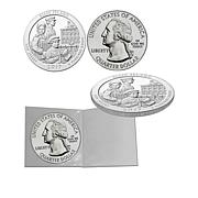 2017 DCAM Ellis Island 5 oz. Silver Bullion Coin