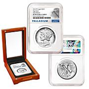 2018-W PF70 NGC Early Release Palladium American Eagle $25 Coin