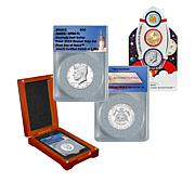2019 FDOI LE JFK Half Dollar and United States Mint Rocketship Coins