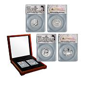2019-S FDOI LE Apollo 11 50th Anniversary & Kennedy Half Dollar Set