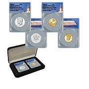 2019 SP69 PL JFK Half Dollar & PR70 Native American Dollar 2-Coin Set