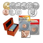2019 U.S. Mint Proof Set and RP70 FDOI LE 162 Lincoln Penny