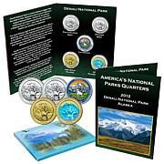 5-piece 2012 Denali National Park Quarters